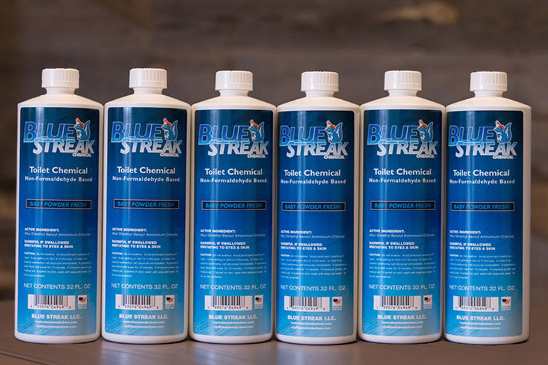 Blue Streak 6 Bottles